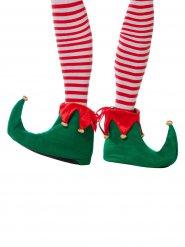 Kerst elf schoenen voor volwassenen