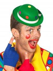 Clownshoedje met stippen voor volwassenen