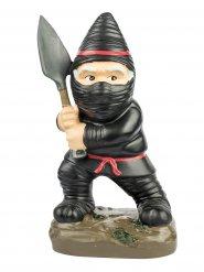 Mini zwarte ninja tuinkabouter