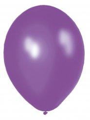 10 metallic paarse ballonnen
