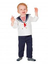 Kleine matroos kostuum voor baby