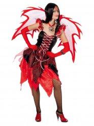 Duivelse fee kostuum voor vrouwen
