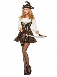 Chique piratenkostuum voor vrouwen