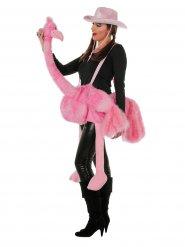 Roze flamingo kostuum voor volwassenen