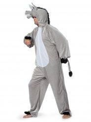 Grijs ezel kostuum voor volwassenen