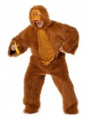 Bruin apen kostuum voor volwassen
