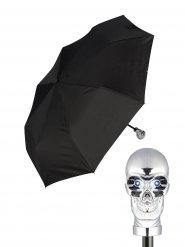 Paraplu met doodskop