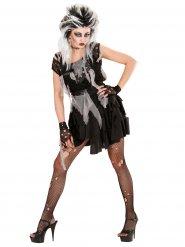 Zombie punk kostuum voor vrouwen
