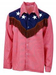 Cowboy overhemd voor mannen - grote maten