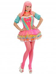 Candy clown kostuum voor dames