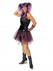 Punk rock kostuum voor vrouwen