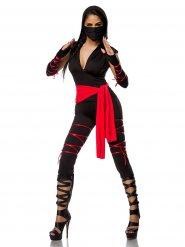 Sexy ninja outfit voor vrouwen