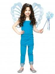 Blauwe fee toverstok en vleugels voor meisjes