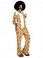 Koning van de disco kostuum voor mannen