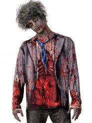 Bloederige zombie outfit voor mannen