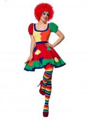 Circus clown kostuum voor dames