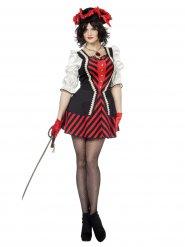 Stijlvol piraten kostuum voor vrouwen
