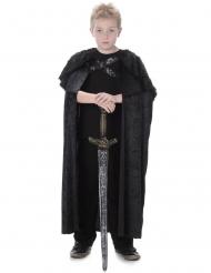 Nep bond cape voor kinderen