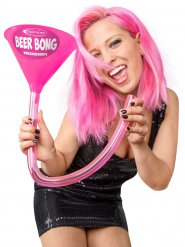 Roze of grijze Headrush Beer Bong® biertrechter