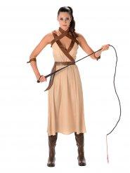 Kostuum krijger voor vrouwen
