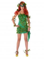Groene sexy superschurk kostuum voor vrouwen