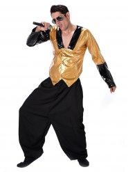Jaren 80 rapper kostuum voor mannen