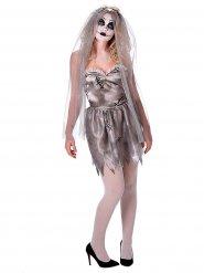 Spookachtige bruid kostuum voor vrouwen