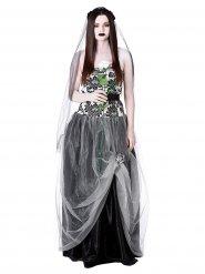 Gothic bruid kostuum voor vrouwen