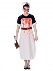 Bebloede zuster kostuum voor vrouwen