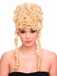 Blonde godin krullen pruik voor vrouwen