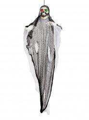Enorme lichtgevende skelet spook decoratie