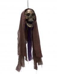 Reaper hoofd met licht decoratie