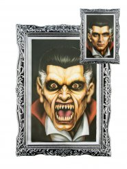 Veranderende vampier portret decoratie