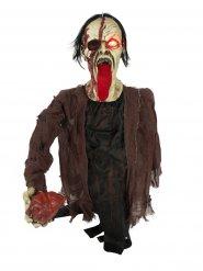 Lichtgevende zombie Halloween decoratie