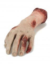 Bloederige hand decoratie