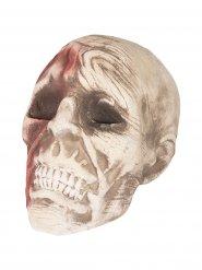 Zombie schedel decoratie