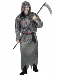 Grijs reaper kostuum voor mannen