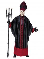 Duister skelet Paus kostuum voor volwassenen