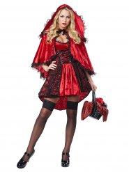 Deluxe sexy roodkapje kostuum voor vrouwen