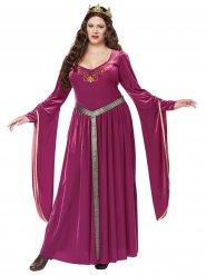 Middeleeuwse prinses kostuum voor vrouwen - Grote Maten