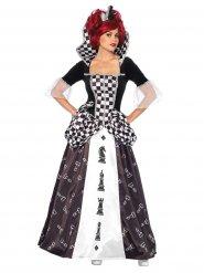 Schaak meesteres prinses kostuum voor vrouwen