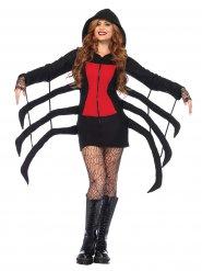 Zwarte spin outfit voor vrouwen