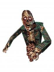Kartonnen enge zombie decoratie