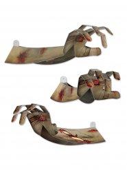Zombie handen Halloween decoratie