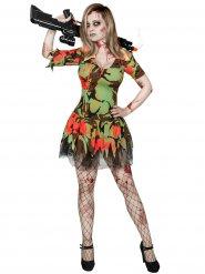 Zombie militair kostuum voor vrouwen
