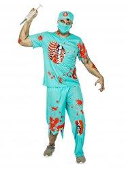 Zombie dokter kostuum voor heren