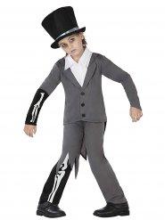 Ober skelet kostuum voor kinderen