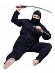 Ninja kostuum voor mannen - grote maten