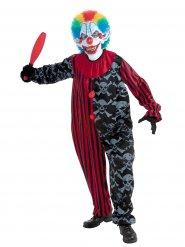 Enge clown kostuum voor volwassenen