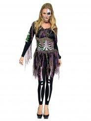 Skelet outfit voor dames